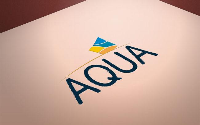 Logotipo Aqua | Agência iMAGON