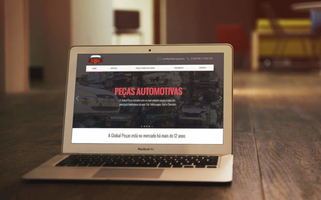 Global Peças | Agência iMAGON
