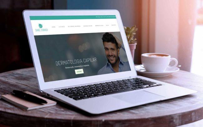 Site Dr. Daniel Dourado | Agência iMAGON