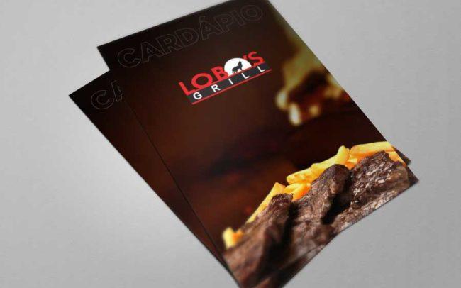 Cardapio Lobos Grill - Agência iMAGON