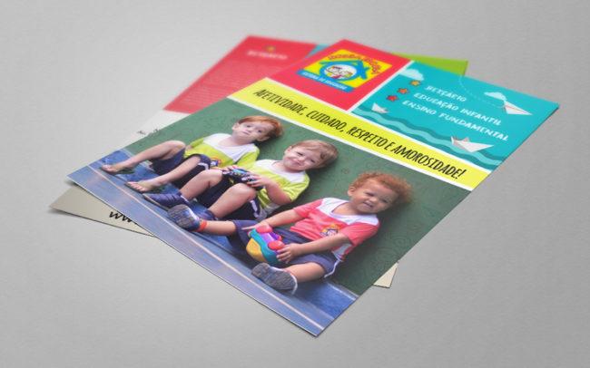 flyer-nossa-escola | Agência iMAGON
